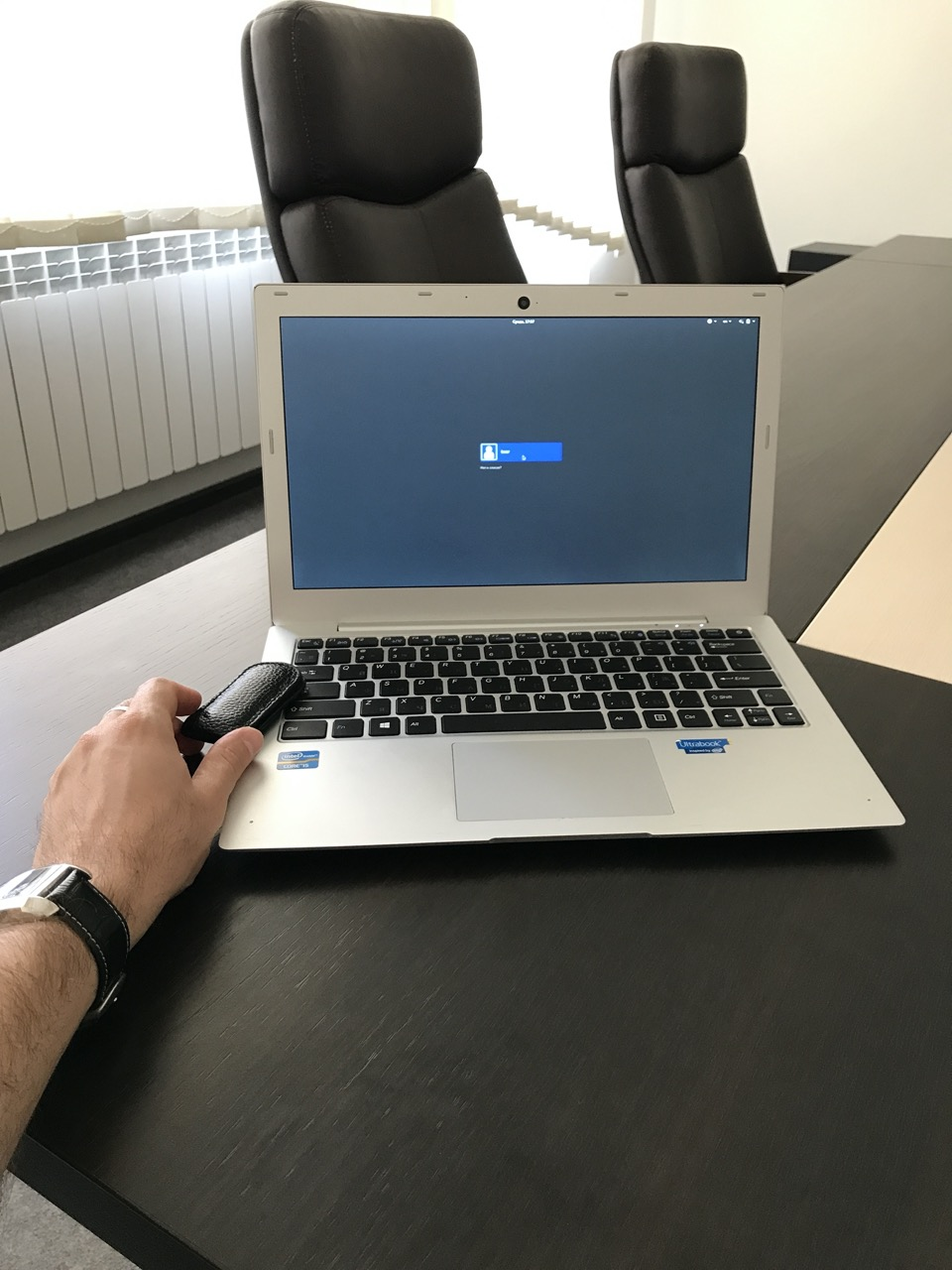 Kryptos Private Laptop