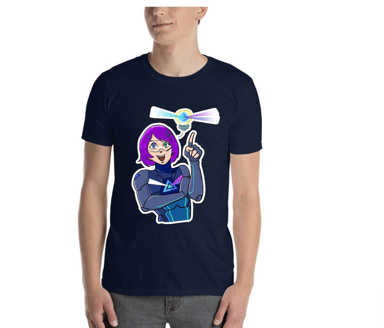 Beam Stickers T-Shirt | Send your sticker and it'll be on the T-shirt